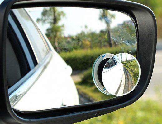 Gương cầu lồi 360 độ ô tô có thực sự giúp xoá điểm mù?