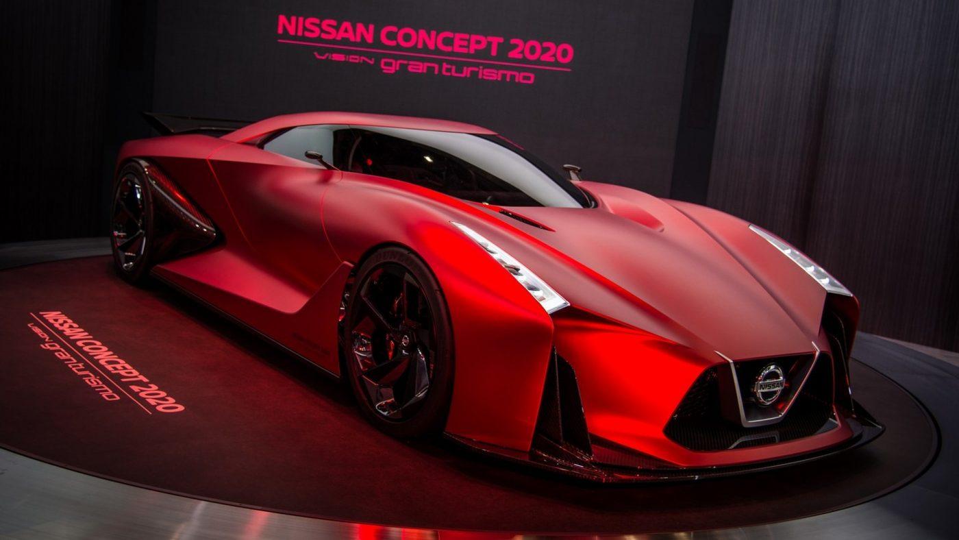 """""""Hiệp sĩ lửa"""" Nissan Concept 2020 Vision Gran Turismo"""