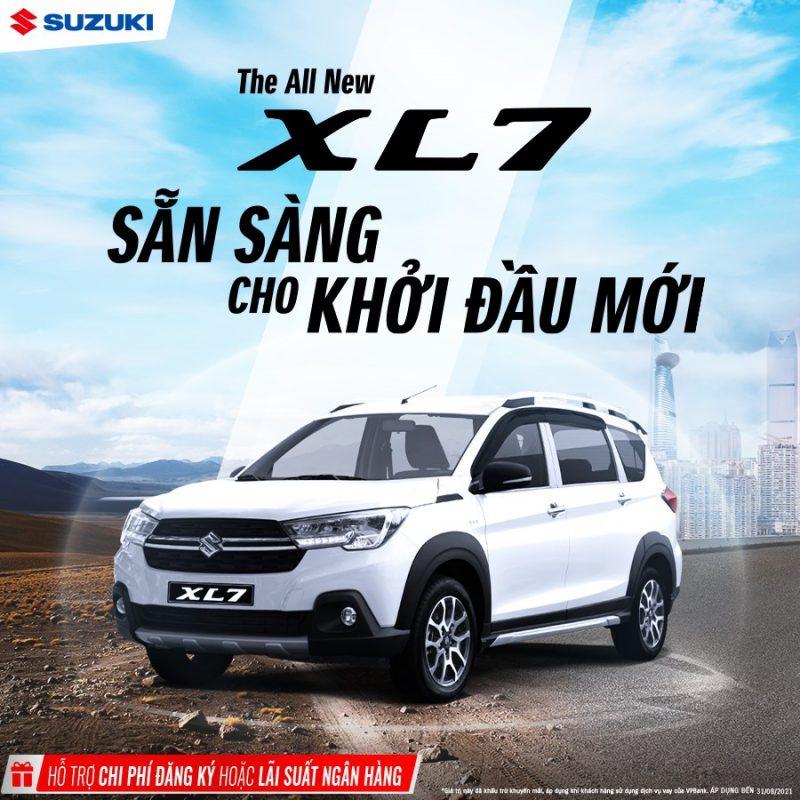 Suzuki ưu đãi đặc biệt tháng 8/2021