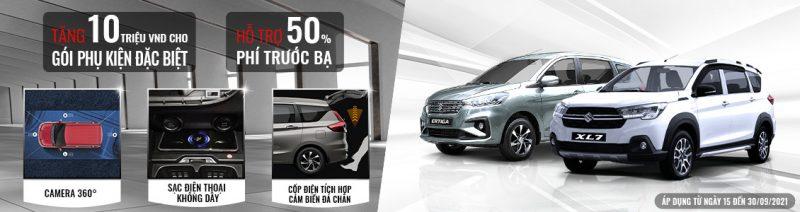 """Phiên bản giới hạn XL7, Ertiga Sport với gói phụ kiện công nghệ cao và """"siêu ưu đãi"""" tháng 9"""
