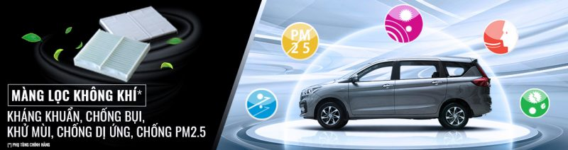 Phụ kiện lọc điều hòa hiệu suất cao chính hiệu Suzuki